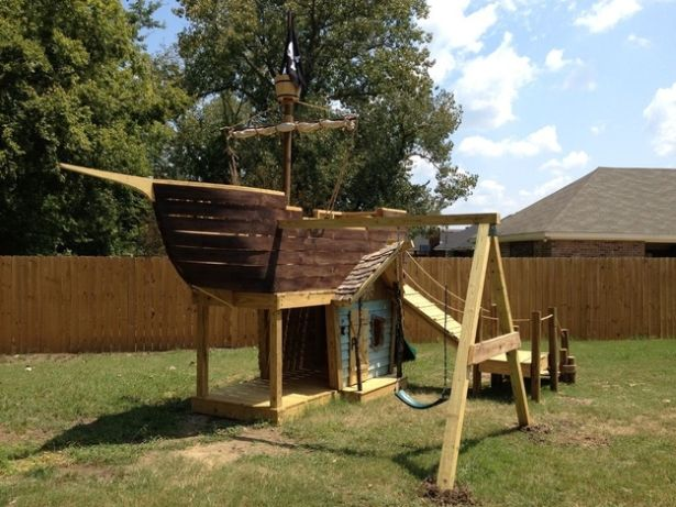 Как построить детский корабль