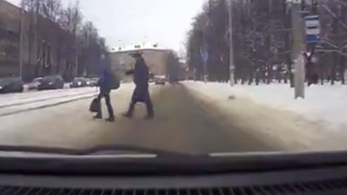 Białoruski superglina w akcji