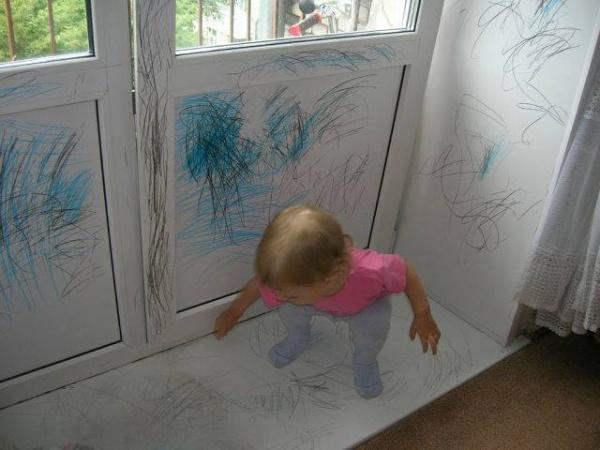 Gdy Twoje dziecko jest cicho przez pięć minut.