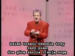 Eddie Izzard - Kot Pawłowa (polskie napisy)