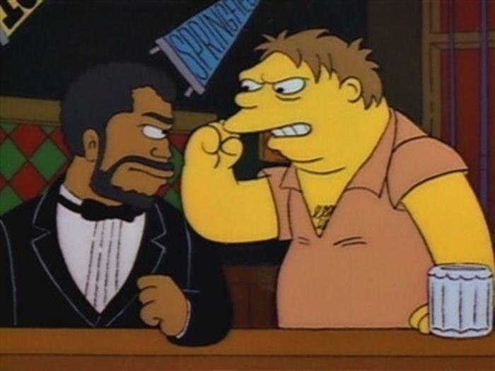 Simpsonowie z komiksów pornoPeter North seks analny