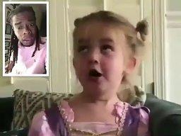 Wygadana dziewczynka