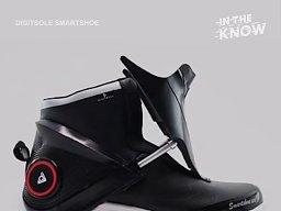 Inteligentne buty, które same się wiążą