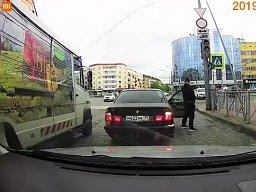 Tymczasem w Rosji - takie dziwy na skrzyżowaniu