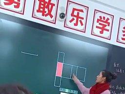 Interaktywna tablica w chińskiej szkole