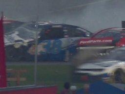 Wypadek 21 samochodów na Daytona 500