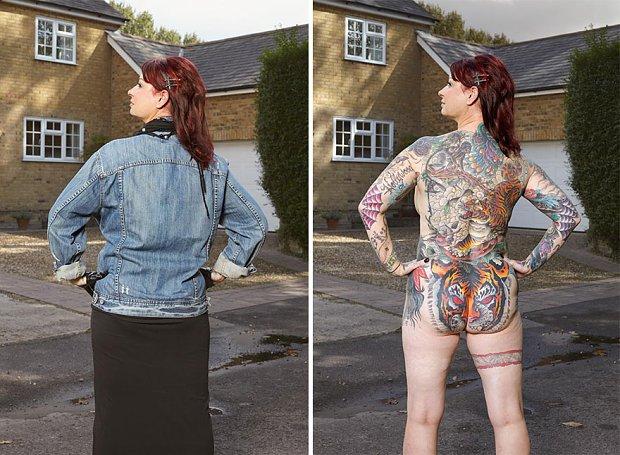Nie Szata A Tatuaz Zdobi Czlowieka
