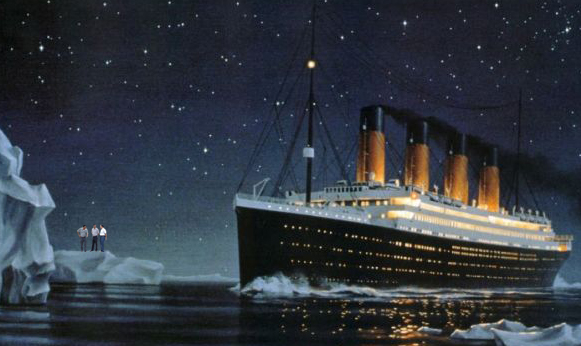 essay titanic sinking