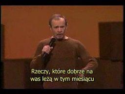 George Carlin - Rzeczy (polskie napisy)