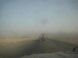 Farciarze na irackiej drodze